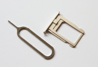 Replacement Part for Apple iPhone 5S SIM Card Tray - Gold - Intl