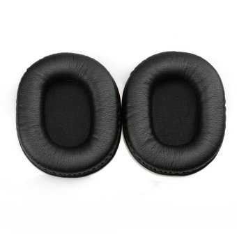 Replacement Protein Leather Ear Pads Cushion for Audio-technicaATH-M40x M50 M50S M20 M30 M40 ATH-SX - 2