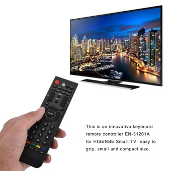 Replacement Smart TV Remote Control Television Controller forHISENSE EN-31201A - intl