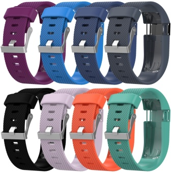 Replacement Wrist Band Strap for Fitbit Charge HR Activity Tracker- intl - 4