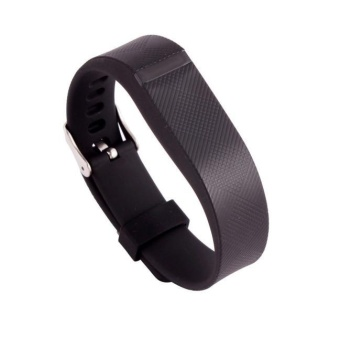 Replacement Wrist Band With Metal Buckle For Fitbit Flex BraceletWristband BK - intl