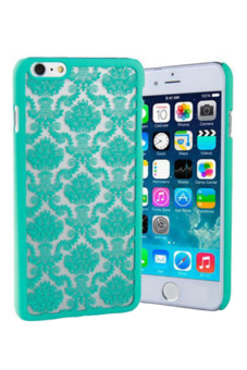 Retro Damask Pattern Matte Case for Apple iPhone 6/6S (Green)