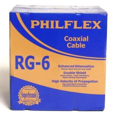 Philflex philippines philflex price list cables wires cords rg06 r 300 philflex rg6 coaxial cable 300m keyboard keysfo Image collections