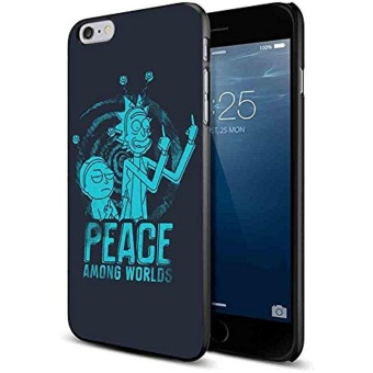 Rick And Morty Peace Among Worlds for iPhone Case (iPhone 6/6sblack) - intl Price Philippines