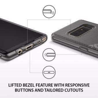 Ringke Bevel Case for Samsung Galaxy Note 8 (Smoke Black) - 3
