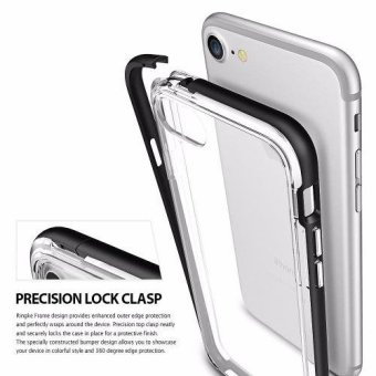 Ringke Frame Bumper Cover Case for Apple iPhone 7 Plus/ Iphone 8 Plus (Black) - 3