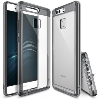 Ringke Fusion PC And TPU Back Cover Case For Huawei P9 (SmokeBlack) - intl