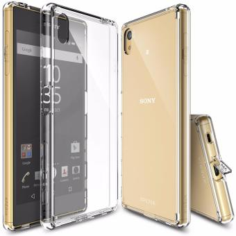 Ringke Fusion Shock Absorption Bumper Hard Case for Sony Xperia Z5(Crystal View)
