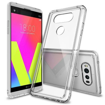 Ringke Fusion TPU Bumper Cover Case for LG V20 (Clear)
