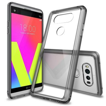 Ringke Fusion TPU Bumper Cover Case for LG V20 (Smoke Black)