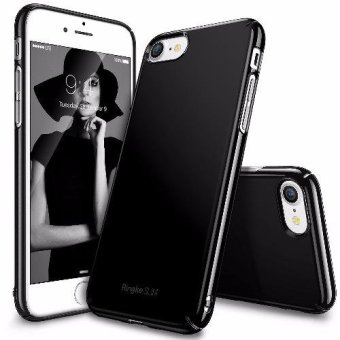Ringke Slim Ultra Thin Cover Case for Apple iPhone 7/ Iphone 8 (Glossy Black)