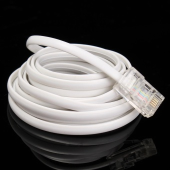 RJ45 to RJ11 telephone line 8P4C + 6P4C network switch telephonenetwork turn American - intl