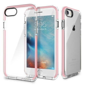 ROCK Anti-knock Phone Case Guard Series Soft TPU + High Elastic TPEDrop Protection Case for IPhone 7Plus - intl Price Philippines