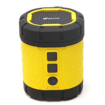 Rocket Audio BV350 Mini Bluetooth Speaker (Yellow)