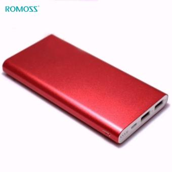 Romoss RT Series Rechargeable battery Romoss RT10 10000mAh super thin Polymer core (Red) - 3