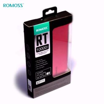 Romoss RT Series Rechargeable battery Romoss RT10 10000mAh super thin Polymer core (Red) - 4