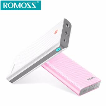 ROMOSS Sense 6 LED Dual USB Output 20000mAh Power Bank Portable Charger with LED Indicator