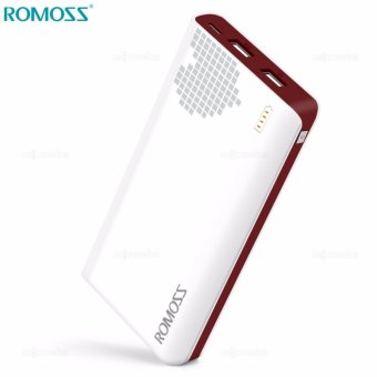ROMOSS Sense 6 PH80 20000mAh Fast Charging Heart Design Power Bank (White)