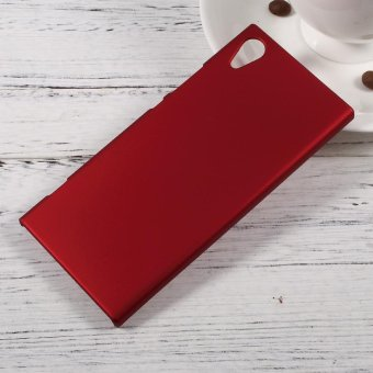 Rubberized Hard Back Case for Sony Xperia XA1 - Red - intl
