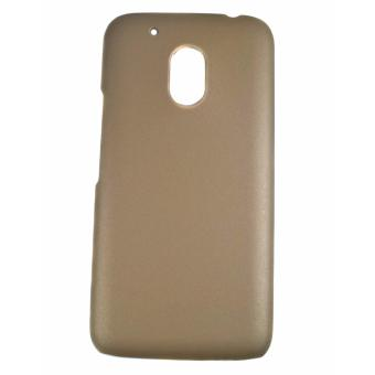 Rubberized Hard Case for Motorola Moto G4 Play (Gold) Price Philippines