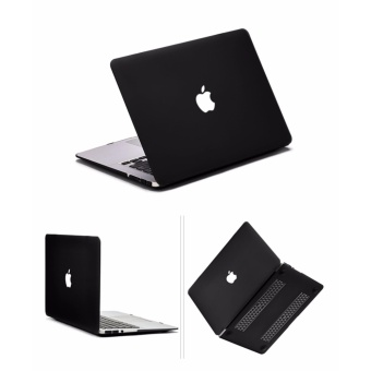 Rubberized Protective Case For Apple Mac-book 15.4 Pro 2017 - Intl - 3