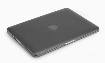 Rubberized Protective Tablet Case For Apple Mac-book 13.3 Inchretina (Black)