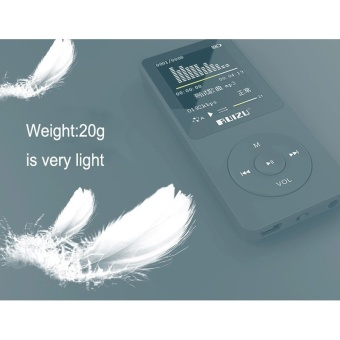 Ruizu X02 Lossless Flac Portable Mini Hifi Digital Sport AudioScreen Mp 3 Music Mp3 Player 8GB With Headphones Radio FM TF SD -intl