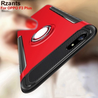 Rzants For OPPO F3 Plus 360 Degrees Rotation with Ring Car Holder Case Cover - intl - 4