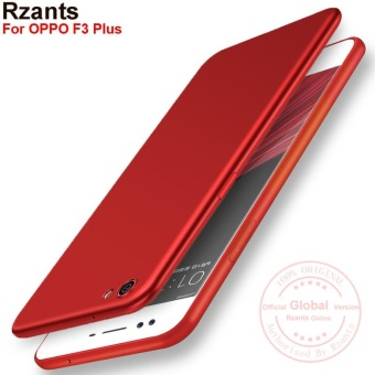 Rzants For OPPO F3 Plus Smooth Ultra-thin light ?Metal lacquercoating?Soft Back Case Cover - intl