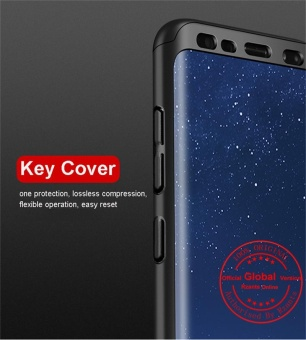 Rzants For Samsung S8 Galaxy 360 Full Cover ShockProof Case withfeel soft screen protector - intl - 5