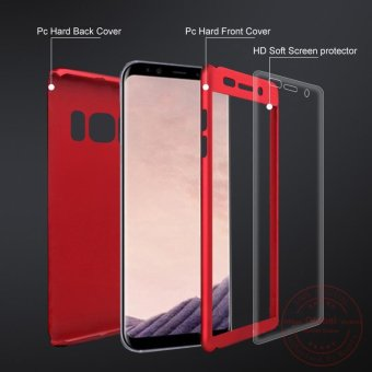 Rzants For Samsung S8 Plus Galaxy 360 Full Cover ShockProof Case -intl - 4