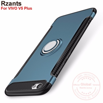 Rzants For VIVO V5 Plus 360 Degrees Rotation with Ring Car Holder Case Cover - intl
