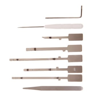 S & F 8 Pieces Unlock Open Opening Tool Repair Disassemble Kit Set for XBOX 360 (Intl) - picture 2