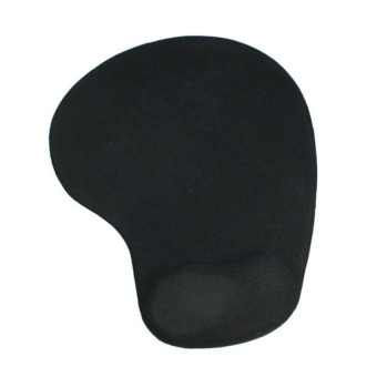 S & F Mouse Pad with Gel Wrist Support (Black) - Intl