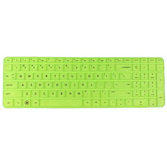 S & F Silicone Anti-dust Keyboard Cover Skin Protector for HP Pavilion New DV6 Series (Green) - Intl