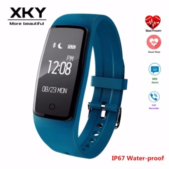S1 Smart Watch Wristband Heart Rate Monitor Bluetooth 4.0Waterproof Fitness Tracker Bracelet For IOS And Android Smart Band- intl