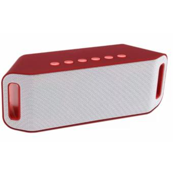 S204 Super Bass Portable Wireless Bluetooth Speaker (Red) Price Philippines