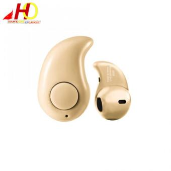 S530 Mini Ultra-small Wireless Smart Bluetooth Headset V4.1 For Android/IOS (Khaki)