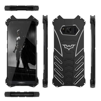 S8 BATMAN case For samsung galaxy s8 case R-JUST Armor AluminumMetal Shockproof back cover case - intl