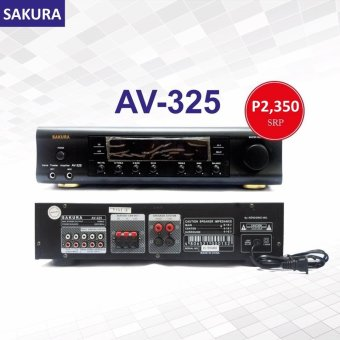 Sakura AV-325 150W X 2 Home Theater Amplifier Price Philippines