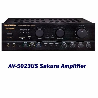 Sakura AV-5023US Amplifier (Black) Price Philippines