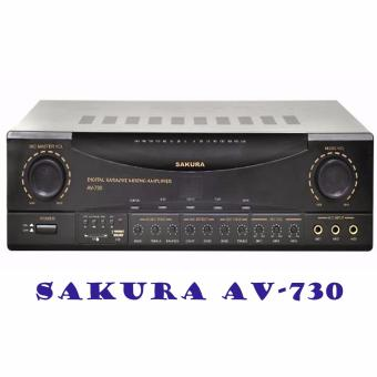 Sakura AV-730 Amplifier (Black) Price Philippines