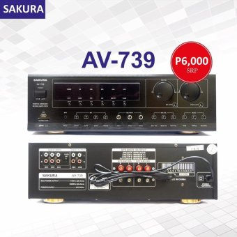 Sakura AV-739 750W X 2 Karaoke Mixing Amplifier Price Philippines