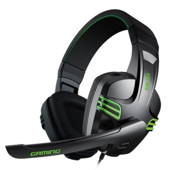 Salar KX-101 Over-the-Ear Gaming Headset (Black)