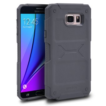 Samsung Galaxy Note 5 Ringke REBEL Anti-Slip Rugged ShockAbsorption Bumper Case (Gray) Price Philippines