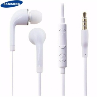 Samsung HS330 Universal Headset with In-Line Multi-FunctionAnswer/Call Button (White)