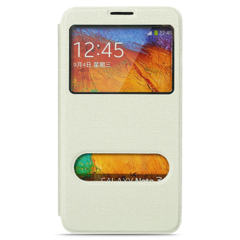 Samsung note3 flip Support SMART Leather cover phone case