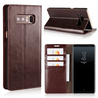 Samsung note8/note8 Jianyue men's business flip Leather cover phone case