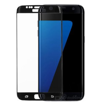 Samsung Tempered Glass Screen Protector for Samsung Galaxy S7 Edge(Black)