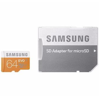 SAMSUNG ULTRA MICRO SDHC CARD UHS-I Class 10 64GB WITH ADAPTER